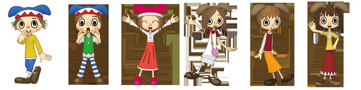 玉井式国語的算数教室のキャラクター